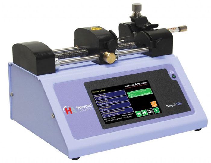 Syringe Pump fluid transfer